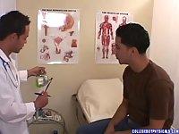 Handsome Patient Gets Medical Handjob