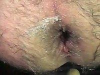 Cucumber & dildo huge ass deep insertion