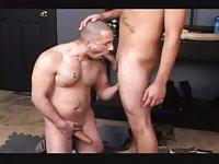 Hot Gay Threeway Banging