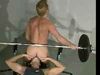 Naughty Sportsmen Sucking & Rimming