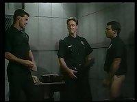 Luscious Guys In Uniform Fourway Sucking