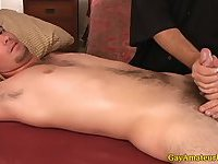 Straight jocks ass getting fingered