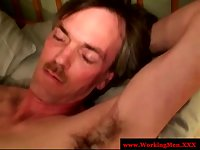 Mature straight guy get some gay head