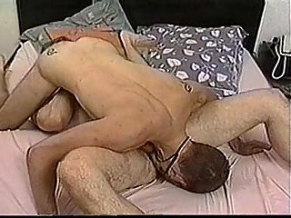 Aroused Men Making Out On A Bed