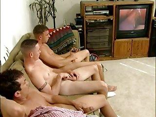 Hot Threeway Ass Banging
