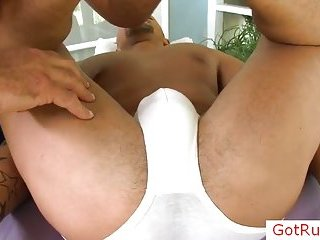 Hot massage for cute guy
