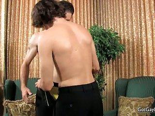 Danny Brooks and Jacob Marteny sucking gay dick 2