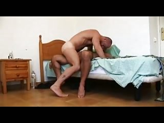 Horny dudes ass fucking