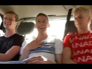 Josh H, Danny & Sven