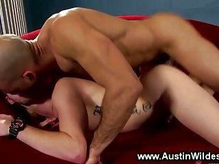 Great ass pounding fun on their sofa