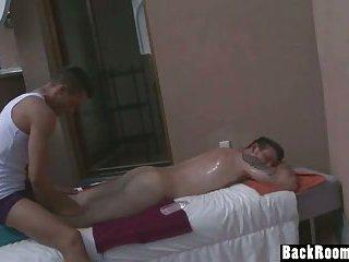 Masseuse Fucks Relaxed Stud