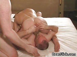 Three gay dudes horny for cock