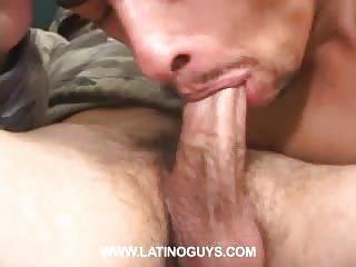 Naughty Stud In Uniform Fucking His Mate