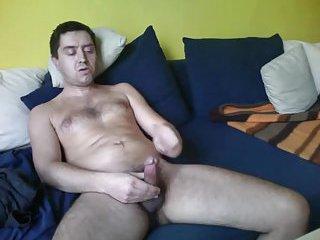 Hot Mature Guy Solo Wanking