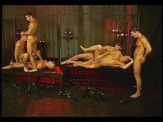 Gay group fetish sex