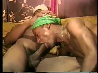 Lewd Ebony Guys Enjoys Sucking & Banging