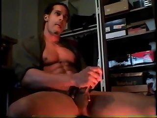 Muscle Guy Solo Wanking