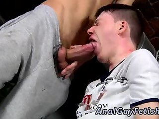 The super-sexy black-haired boy is dangling cock
